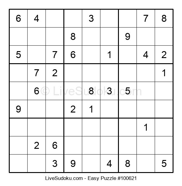 Beginners Puzzle #100621