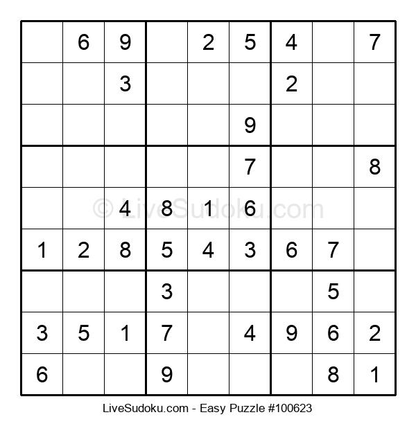 Beginners Puzzle #100623