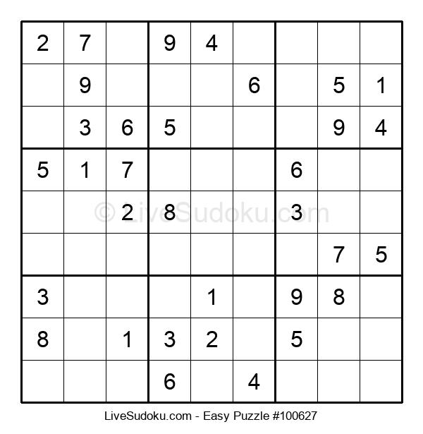 Beginners Puzzle #100627