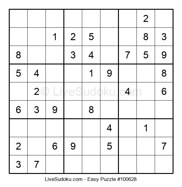 Beginners Puzzle #100628