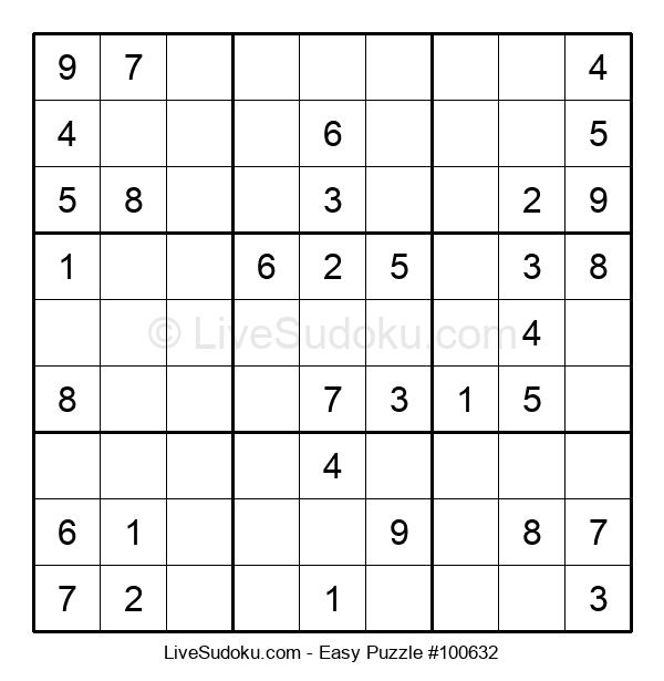 Beginners Puzzle #100632