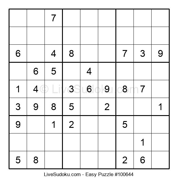 Beginners Puzzle #100644
