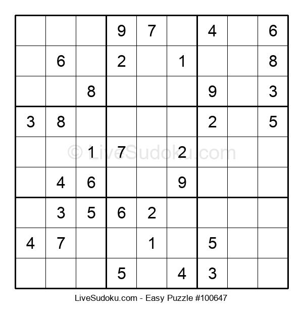 Beginners Puzzle #100647