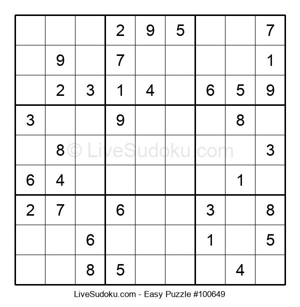 Beginners Puzzle #100649