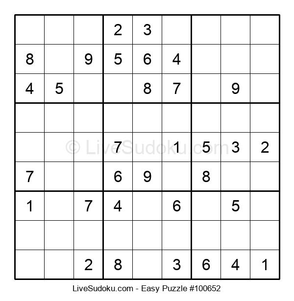 Beginners Puzzle #100652