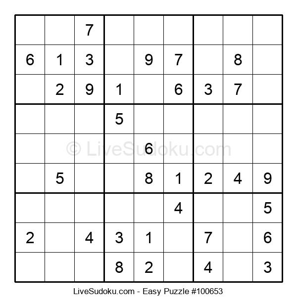Beginners Puzzle #100653