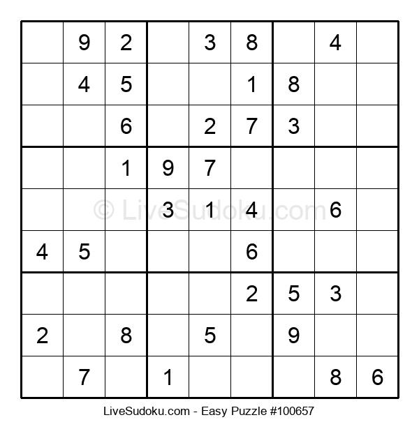 Beginners Puzzle #100657