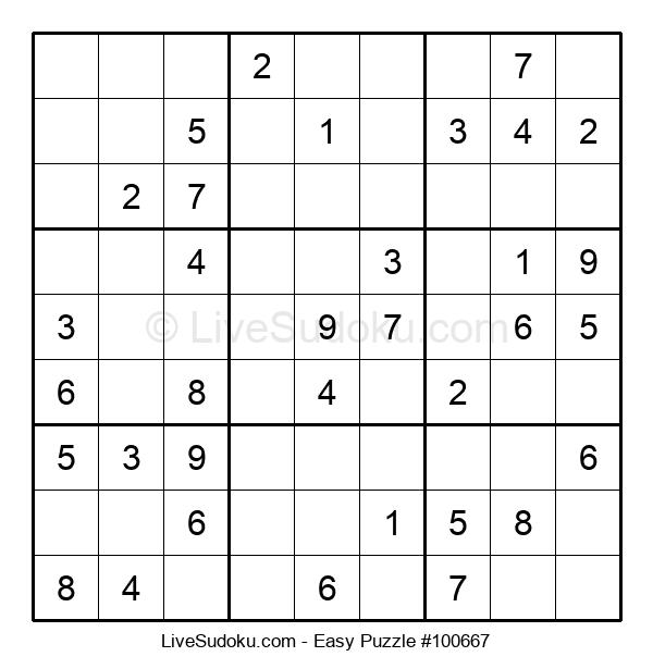 Beginners Puzzle #100667