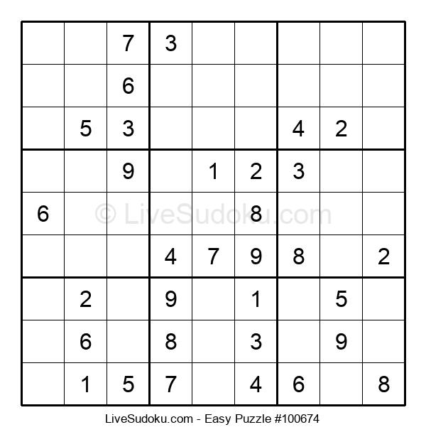 Beginners Puzzle #100674