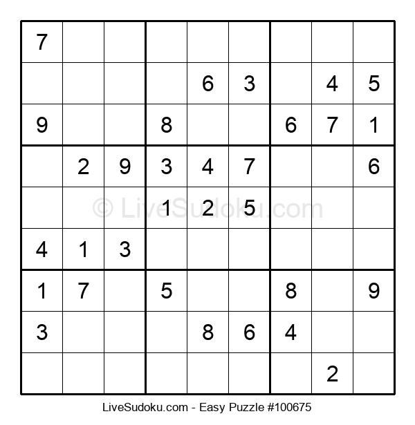 Beginners Puzzle #100675