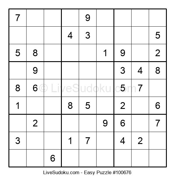 Beginners Puzzle #100676
