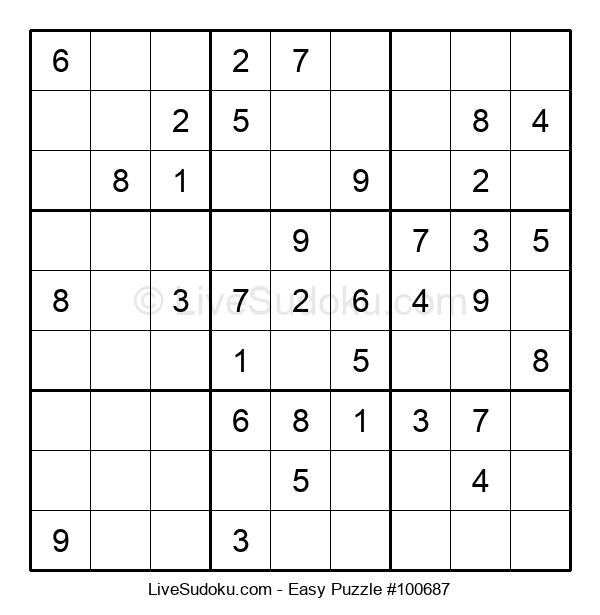 Beginners Puzzle #100687