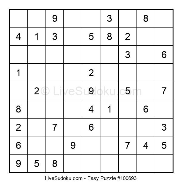 Beginners Puzzle #100693