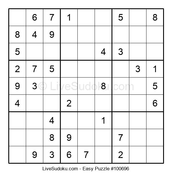 Beginners Puzzle #100696