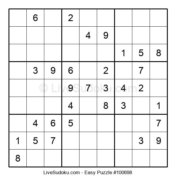 Beginners Puzzle #100698