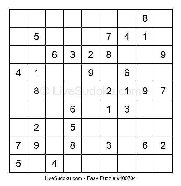 Beginners Puzzle #100704