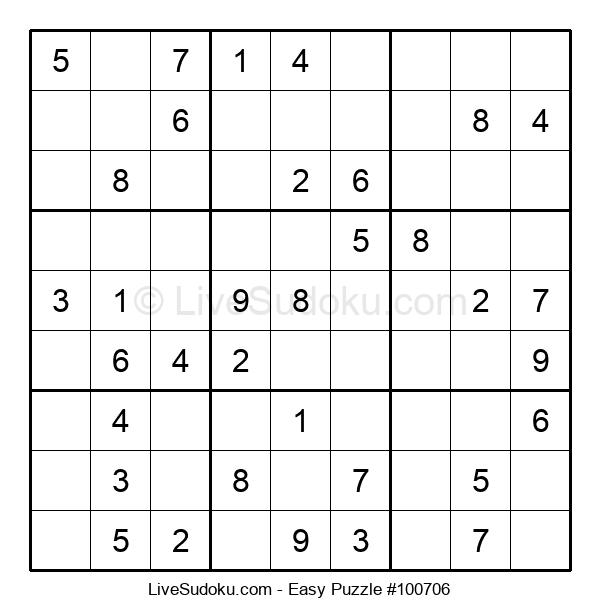 Beginners Puzzle #100706