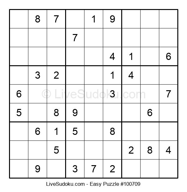 Beginners Puzzle #100709
