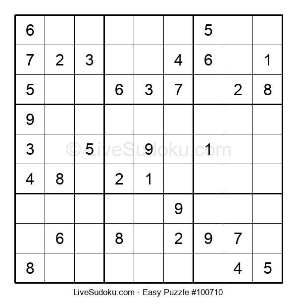 Beginners Puzzle #100710