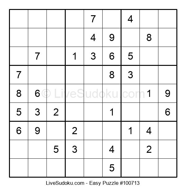 Beginners Puzzle #100713