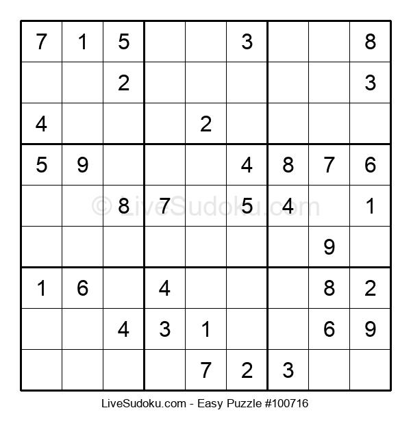 Beginners Puzzle #100716