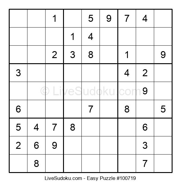 Beginners Puzzle #100719