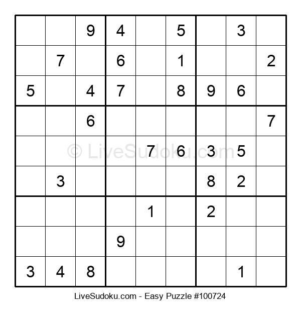 Beginners Puzzle #100724