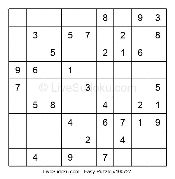Beginners Puzzle #100727