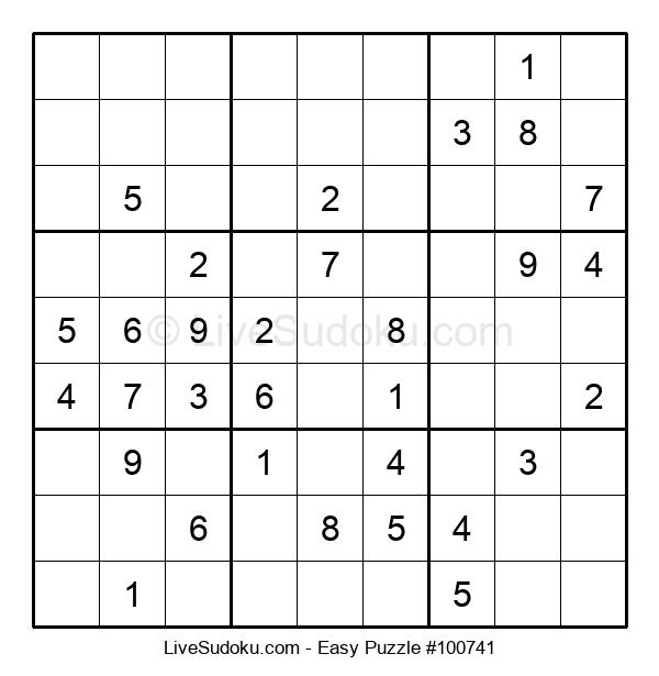 Beginners Puzzle #100741