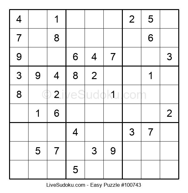 Beginners Puzzle #100743