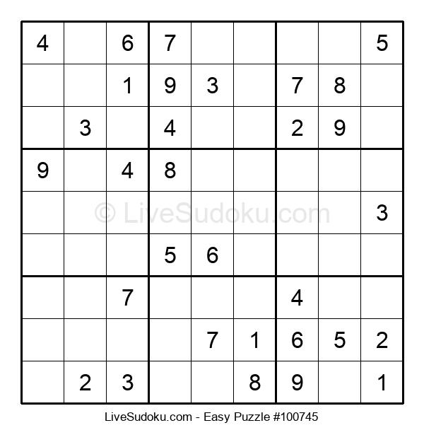 Beginners Puzzle #100745