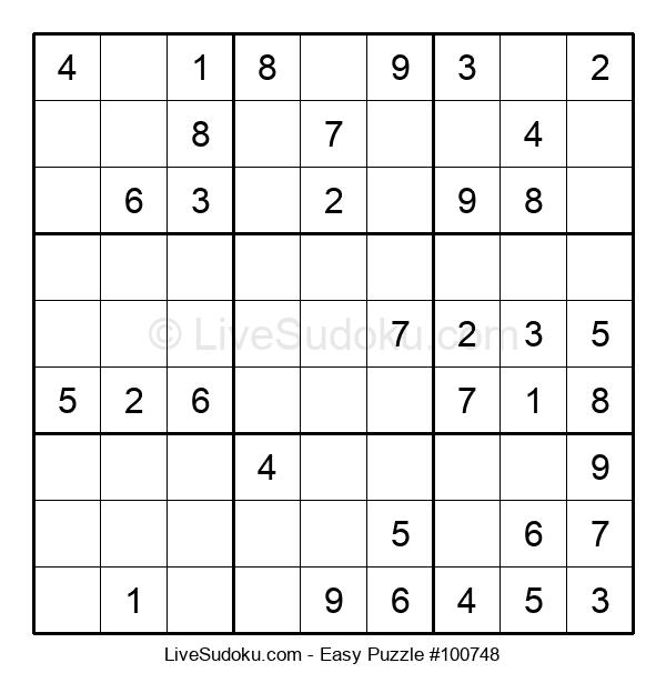 Beginners Puzzle #100748