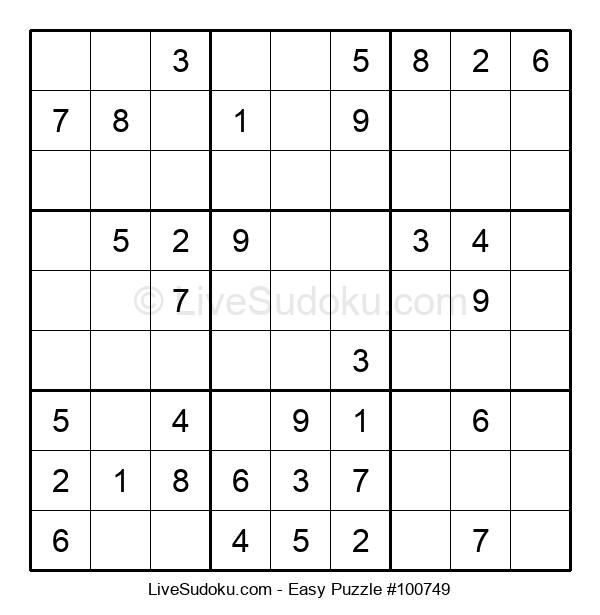 Beginners Puzzle #100749