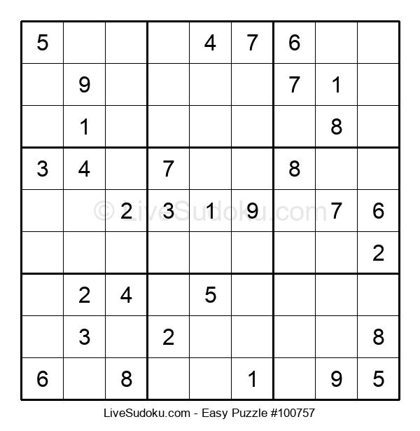 Beginners Puzzle #100757