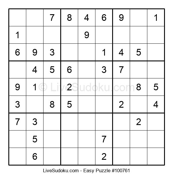 Beginners Puzzle #100761