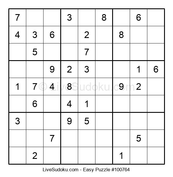 Beginners Puzzle #100764