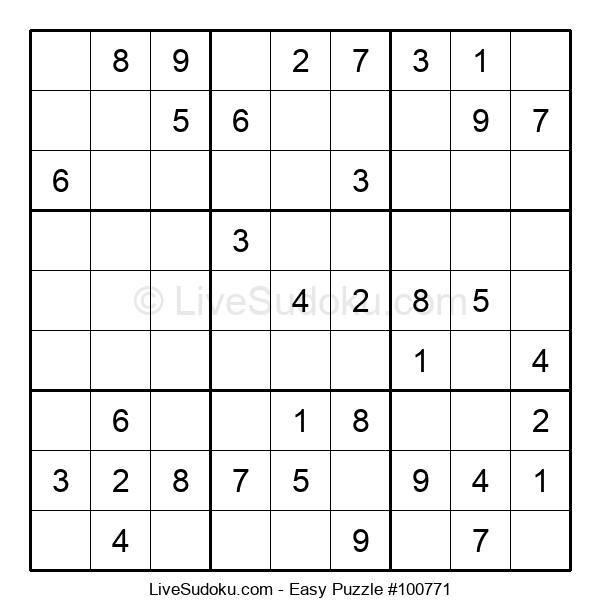 Beginners Puzzle #100771