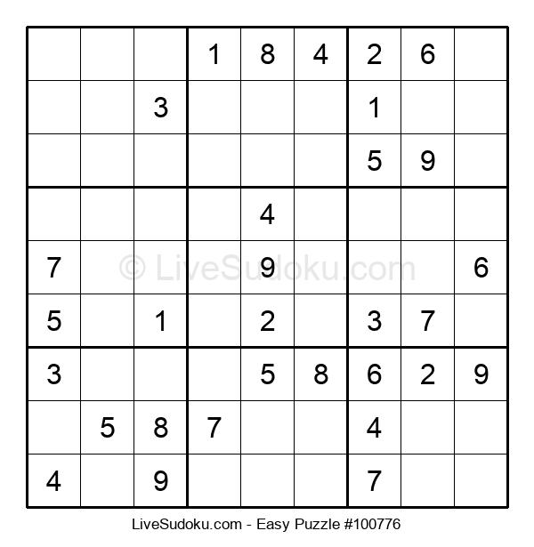 Beginners Puzzle #100776