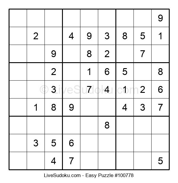 Beginners Puzzle #100778