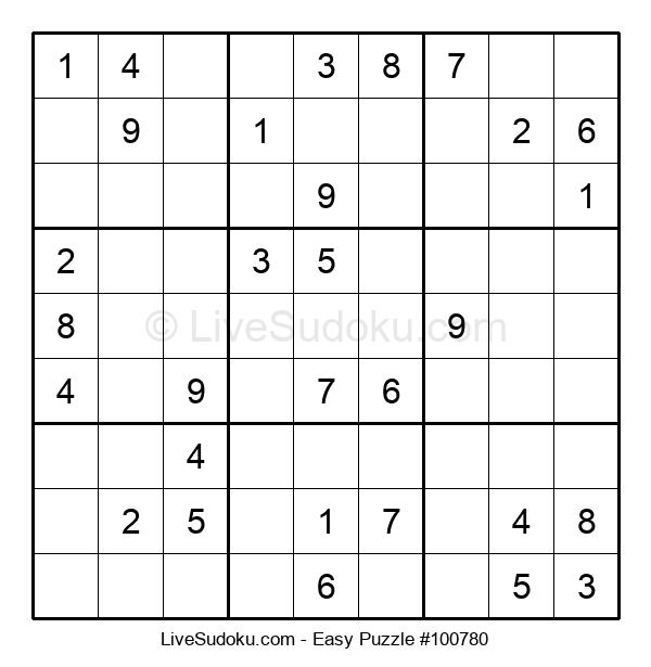 Beginners Puzzle #100780