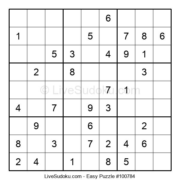 Beginners Puzzle #100784