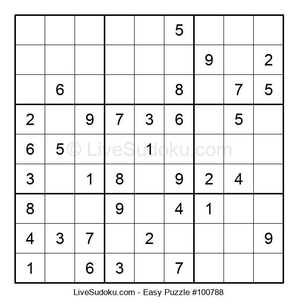 Beginners Puzzle #100788