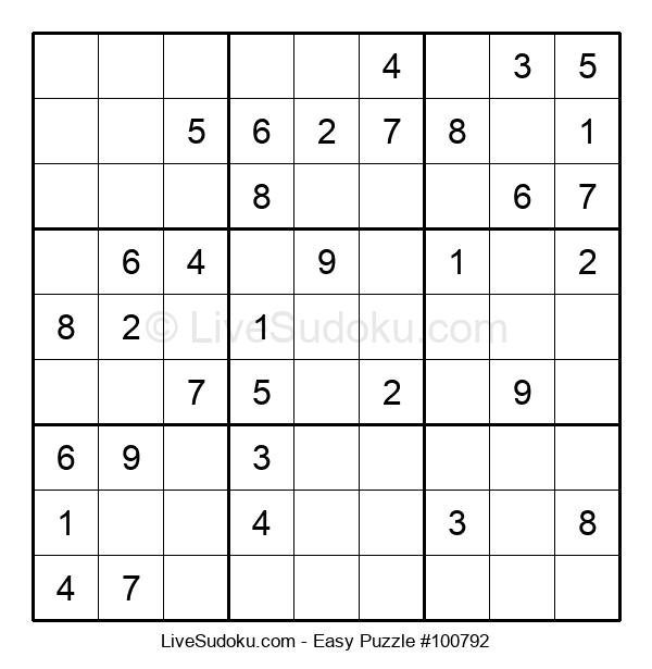 Beginners Puzzle #100792