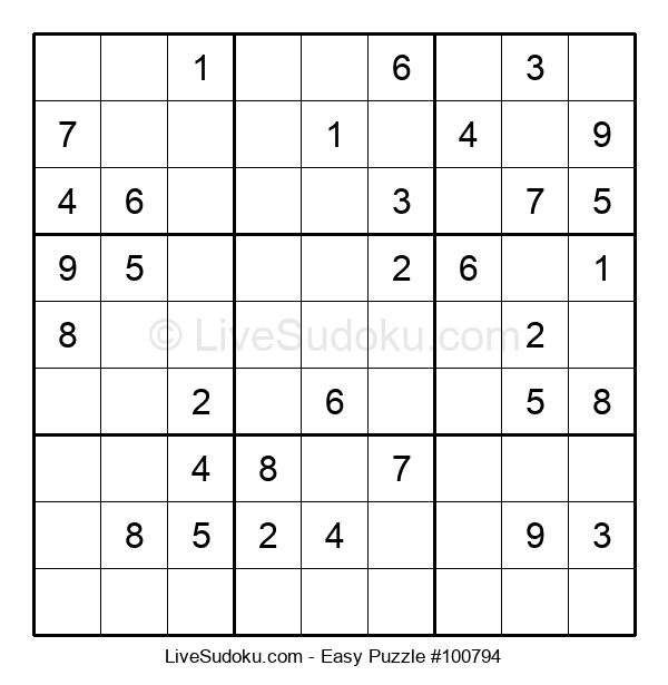 Beginners Puzzle #100794
