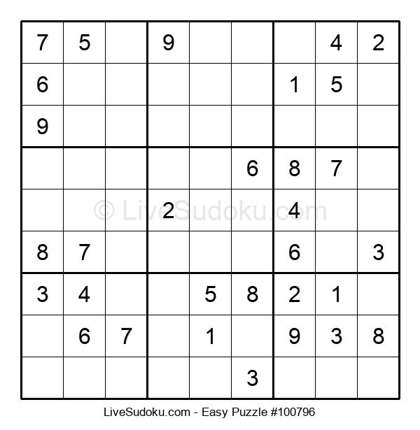 Beginners Puzzle #100796