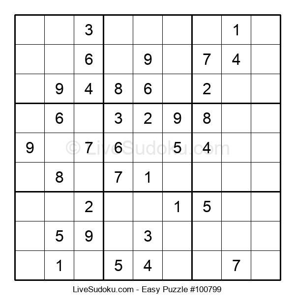 Beginners Puzzle #100799