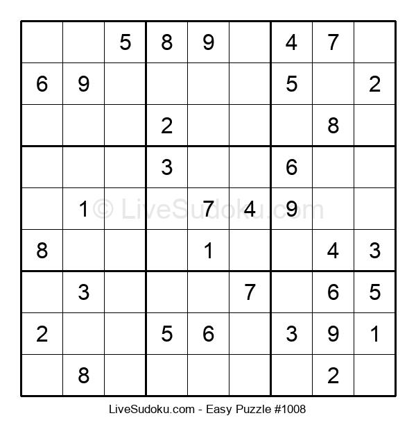 Beginners Puzzle #1008