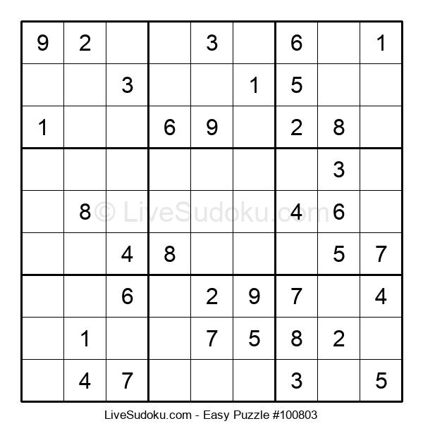 Beginners Puzzle #100803