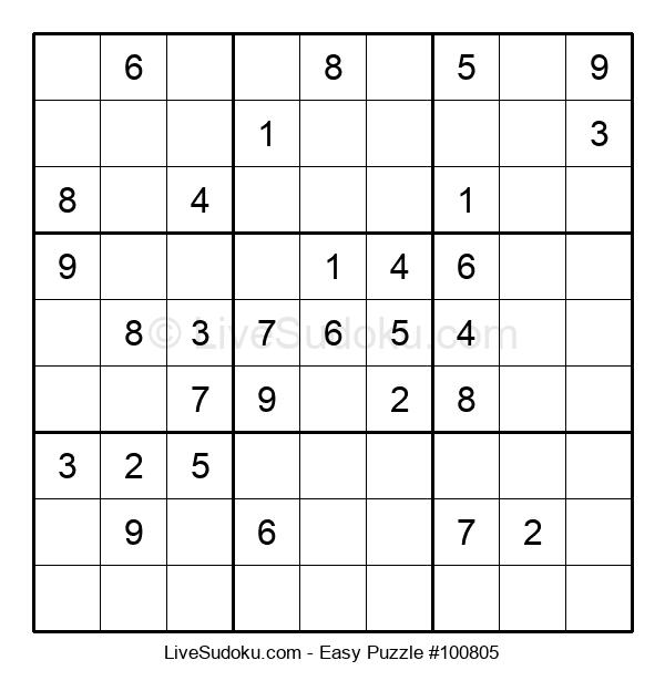 Beginners Puzzle #100805