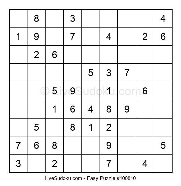 Beginners Puzzle #100810